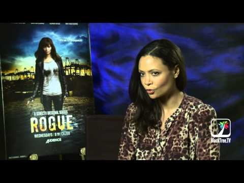 Thandie Newton talks Rogue, Tupac and Family