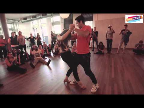 Freddy + Rikka - Dutch International Zouk Congress 2015 - Demo