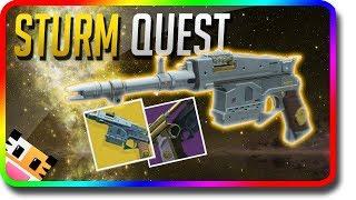 "Destiny 2 - How To Get The ""Sturm"" Exotic Hand Cannon (Destiny 2 ""Sturm"" Exotic Quest Tutorial)"