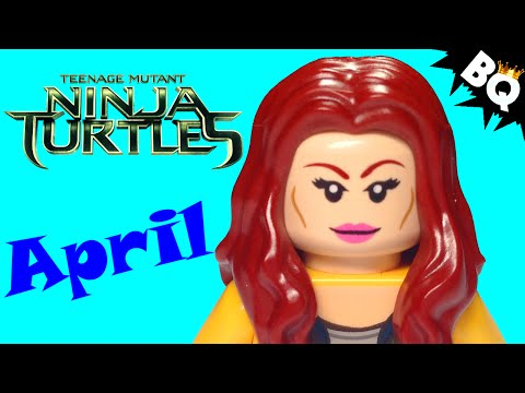 LEGO Ninja Turtles April O'Neil TMNT Minifigure Comparison