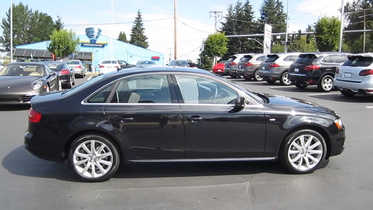 2014 Audi A4 Phantom Black Stock 109432 Youtube