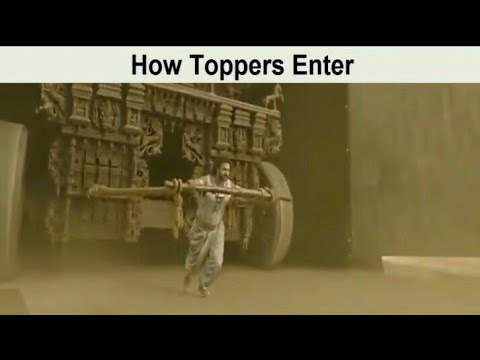 Toppers vs back benchers on Bollywood style || Bollywood song || Everything for you