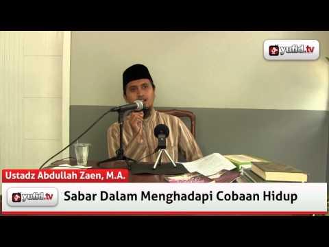 Ceramah Agama Dan Konsultasi Agama Islam: Sabar Dalam Menghadapi Cobaan Hidup