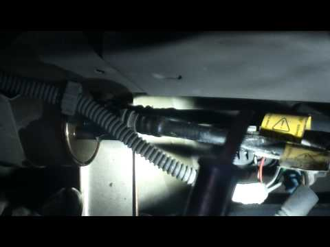 Fuel filter replacement 2006 Chevrolet Cobalt LS Install Remove Replace How to change