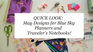 Target Traveler's Notebooks & Planners from May Designs: QUICK LOOK