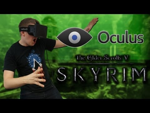 Oculus Rift Skyrim - Dragon Slaying, Dancing & Coffins?!