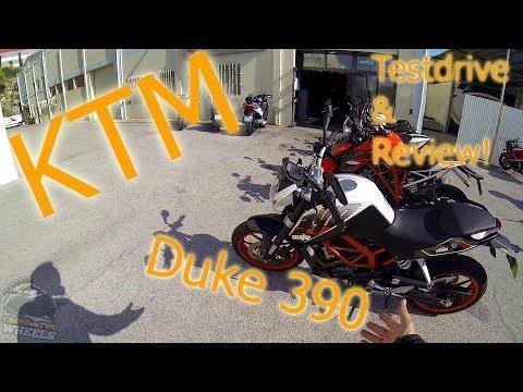 KTM Duke 390 Review & Testdrive