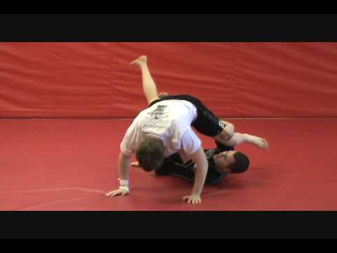 Half Guard Sweep Chain