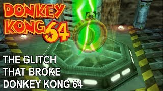 The glitch that broke Donkey Kong 64