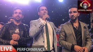 Ahmad Shah Mostamandi, Farid Chakawak & Mehdi Farukh - Qarsak Mix LIVE VIDEO