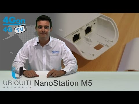 Ubiquiti NanoStation M5 (NSM5) Video Review / Unboxing