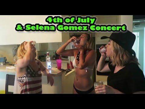 Cammie Scott | 4 de Julio y Concierto de Selena Gomez (subtitulado)