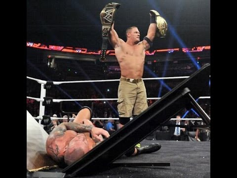 John Cena | Randy Orton Rivarly | Wwe Raw | Tlc Undisputed Championship 2013 video