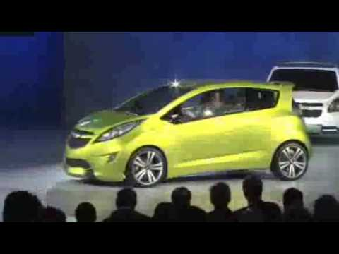 Detroit 2009: Chevy Spark playing to a familiar Beat