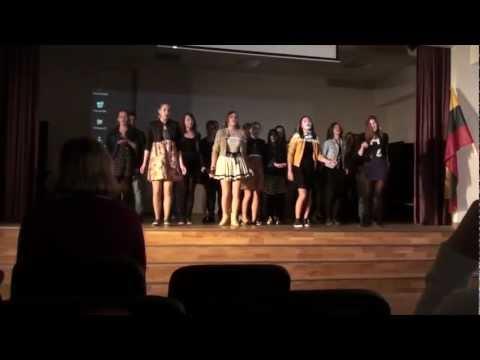 Choras TEIP MBG Chorų karų 2012 atranka.