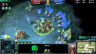 RoX.KIS.TitaN vs MarineKingPrime Game 2: Ritmix RSL II Group D - [Starcraft II]