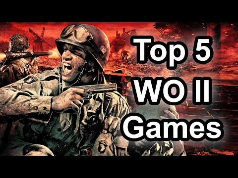Top 5 - World War 2 games