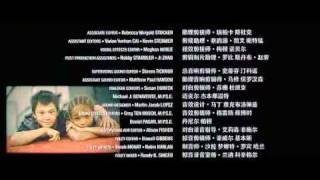 The Karate Kid Movie Song (I will never say never) .avi