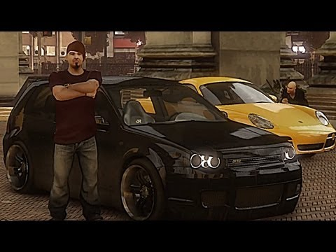 GTA 4 VW Golf IV R32 !!  ENB series Extreme Graphics  [ Car mods + RealizmIV + VisualIV ]