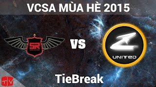 Video clip [24.08.2015] HSR vs ZOT [VCSA Mùa Hè 2015][TieBreak]
