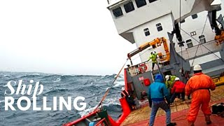 Ship rolling | Life at Sea | Living on tanker | HD