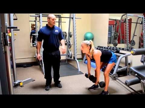 Bent Over Row Personal Fitness Training Exercises Image 1