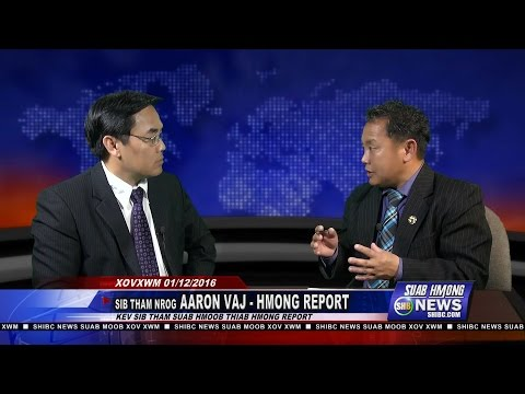 SUAB HMONG NEWS:  Exclusive with Aaron Vang, Hmong Report