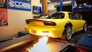 3 ROTOR FD DYNO RUNS and Aerox BIG BRAKE