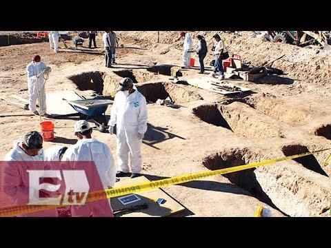 662 cuerpos encontrados en 201 fosas clandestinas desde el 2006: PGR/ Vianey Esquinca