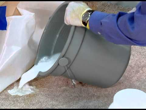 How to remove cat urine stains from concrete