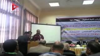 رئيس جامعة بنها في افتتاح مؤتمر كلية الحقوق