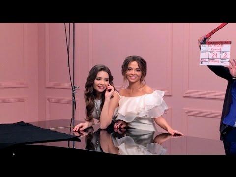 Яна Фисти (Yana Fisti) в съемке для L'Orel Paris backstage La Vie En Rose