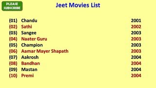 Jeet Movies List