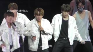 170526 wings tour im Sydney Not Today taehyung   focus