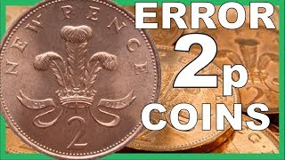 2p ERROR COINS TO LOOK FOR IN CIRCULATION WORTH ££££'s || 2018 VIDEO