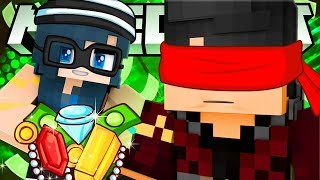 He can't see us... the Silent Minecraft Heist!