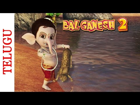 Bal Ganesh 2 - Lord Ganesha Punishes Lone Cat - Telugu Mythological...