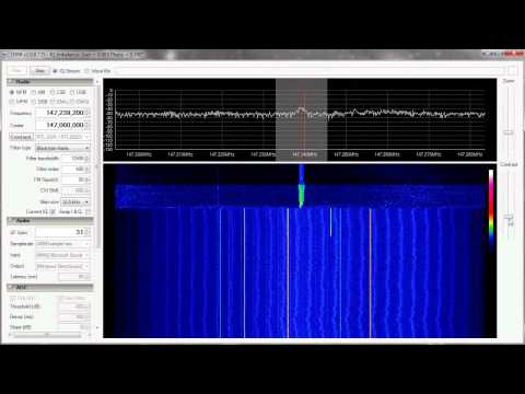 2m Amateur Ham Band with RTLSDR and SDR#