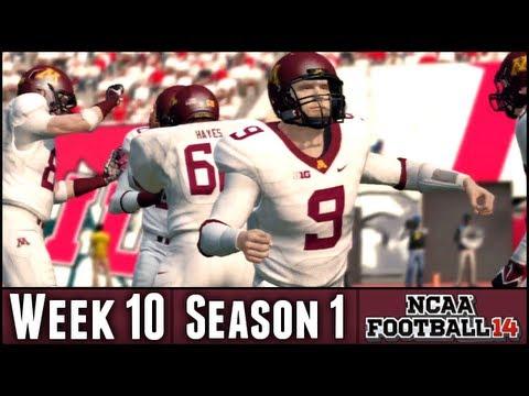 NCAA Football 14 Dynasty - Week 10 @ Indiana (Season 1)