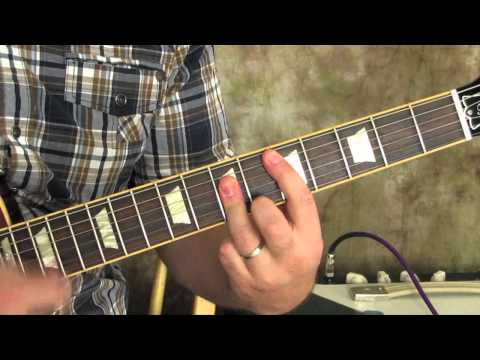 Guitar Lessons - Chords and Rhythm - Led Zeppelin - Jimmy Page Guitar Technique - Gibson Les Paul