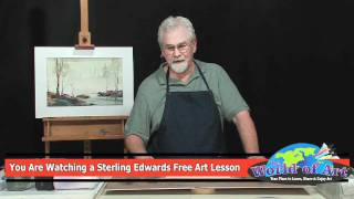How to Paint Sand Dunes and Sea Oats
