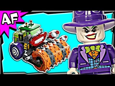 Batman JOKER STEAM ROLLER 76013 Lego DC Super Heroes Animated Building Review