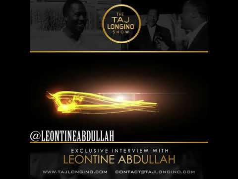 CelebriTEA with Leontine Abdullah celebrity fashion designer