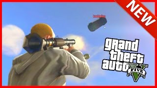 FLYING CARS VS RPG'S! | GTA V Online With Friends! | (GTA 5 FUNNY MOMENTS)