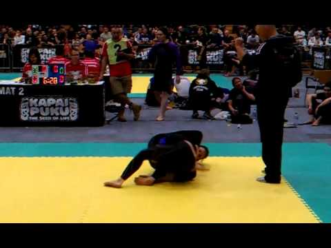 Pan Pacs 2012 Maren Frerichs No Gi Open Weight Semi Final.3gp video