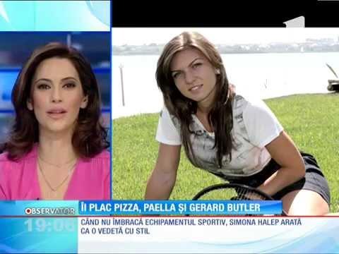 Simona Halep, Modestă şi Uneori Copilăroasă în Afara Terenului De Tenis