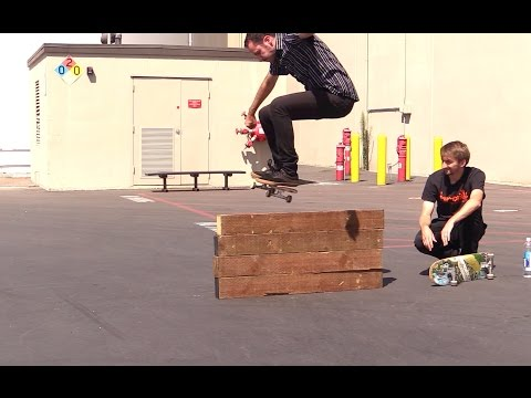 LANCE LIVE SKATE SUPPORT OLLIE HIGHER