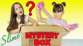 HUGE MYSTERY BOX OF SLIME
