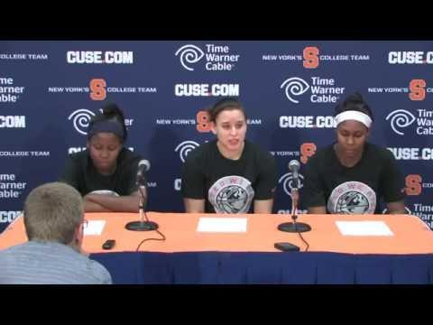 Players vs Boston College Post Game