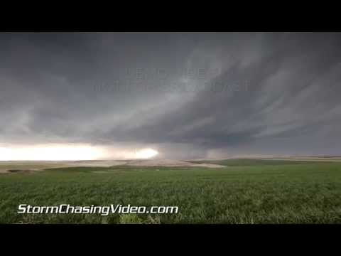 5/20/2014 Denver, CO Tornado Warned Supercell and Extreme Hail B-Roll